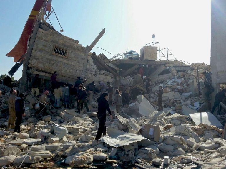 Συρία : Η Ρωσία βομβάρδισε τον Μάιο 4 νοσοκομεία, αποκαλύπτουν οι ΝΥΤ | tovima.gr