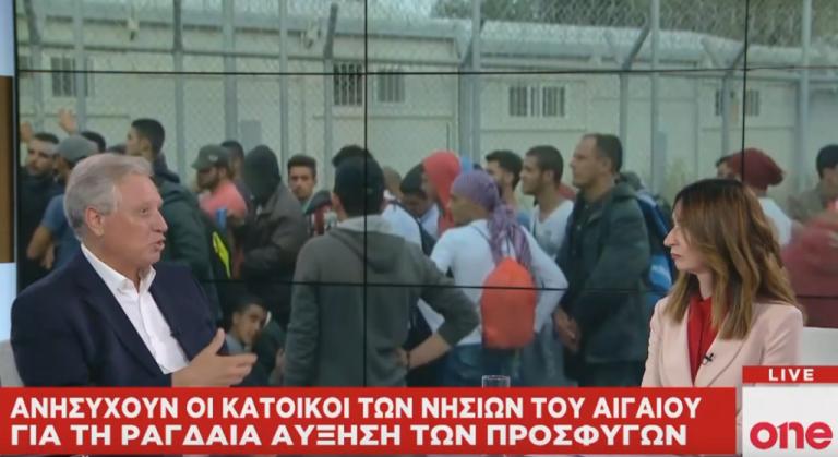 Αλ. Ζαβός στο One Channel: Το προσφυγικό τείνει να γίνει το σημείο που θαμπώνει την εικόνα της κυβέρνησης | tovima.gr
