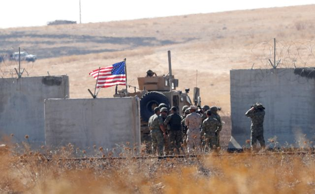 Συρία : Η εγκαταλελειμμένη αμερικανική βάση στη Μάνμπιτζ | tovima.gr