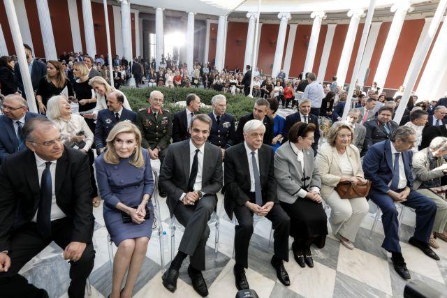 Η Ναυμαχία της Σαλαμίνας στο Ζάππειο – Μήνυμα ομοψυχίας από Κυρ. Μητσοτάκη | tovima.gr