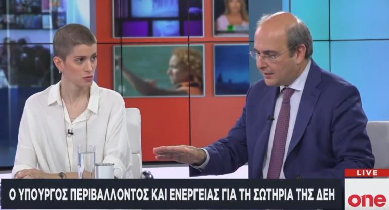 Χατζηδάκης στο One Channel : Στόχος μας μια πράσινη ενεργειακή και περιβαλλοντική πολιτική | tovima.gr
