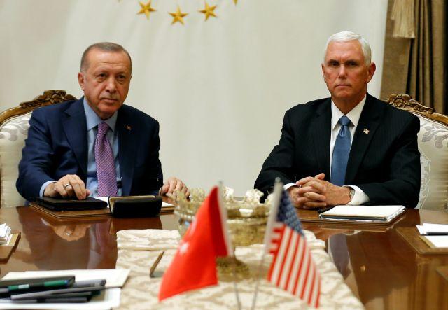 Ερντογάν – Πενς: Συνάντηση σε στιλ είμαστε μια ωραία ατμόσφαιρα | tovima.gr