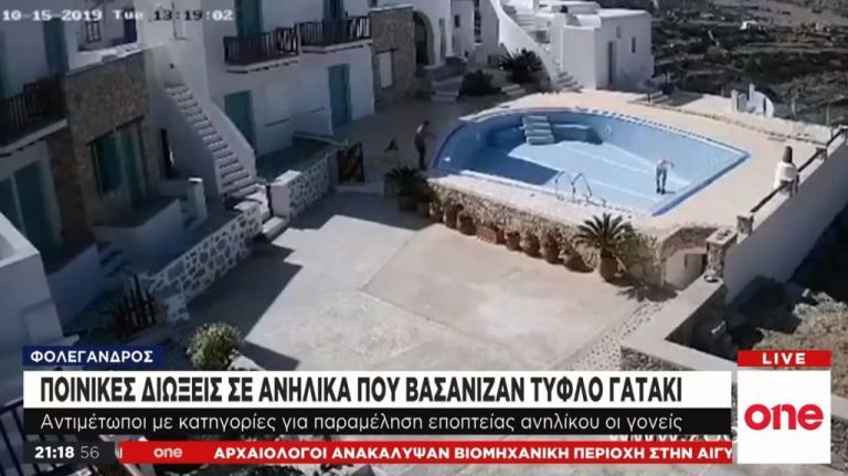 Φολέγανδρος: Ποινική δίωξη στους μαθητές που κακοποίησαν τυφλή γάτα   tovima.gr