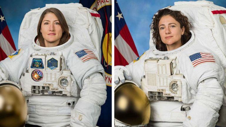 Για πρώτη φορά δύο γυναίκες μαζί στο διάστημα | tovima.gr