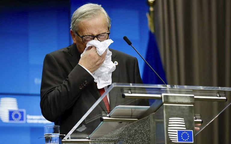 Ζαν – Κλοντ Γιούνκερ : Το δάκρυ στην τελευταία του συνέντευξη Τύπου | tovima.gr