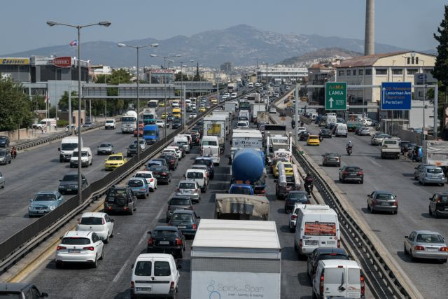 Καραμπόλα στον Κηφισό: Τέσσερις τραυματίες και ουρές χιλιομέτρων | tovima.gr