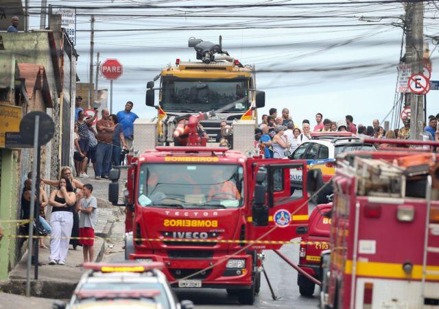 Βραζιλία : Τρεις νεκροί από συντριβή αεροσκάφους | tovima.gr