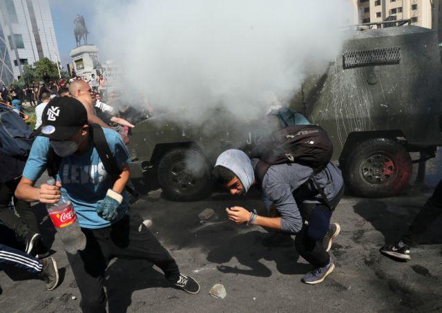 Καζάνι που βράζει η Χιλή : 7 νεκροί εν μέσω βίαιων επεισοδίων το Σαββατοκύριακο   tovima.gr