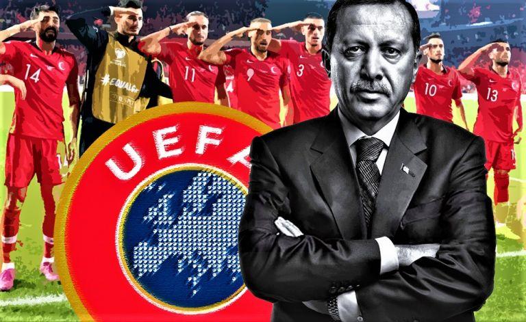 Αμήχανη και ανήσυχη η UEFA μπροστά στον Ερντογάν   tovima.gr