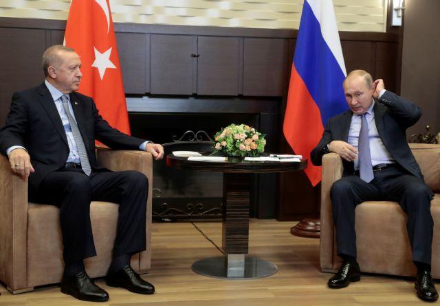 Συρία : Σε εξέλιξη η συνάντηση Ερντογάν – Πούτιν | tovima.gr
