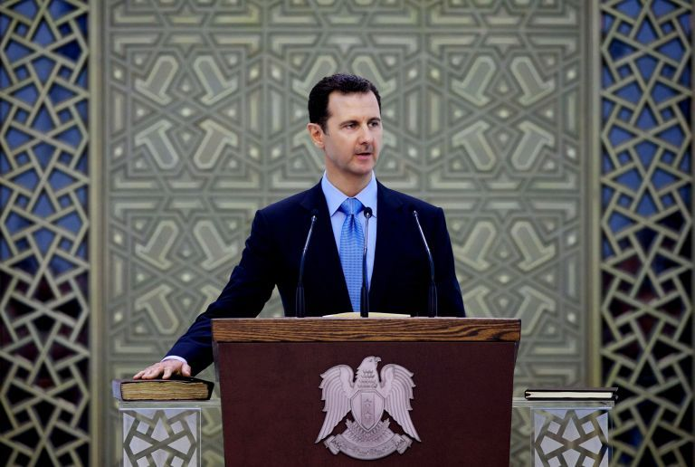 Συρία : Πυρά Άσαντ κατά Ερντογάν στο παρά '5 της εκεχειρίας – «Κλέβει τη γη μας» | tovima.gr