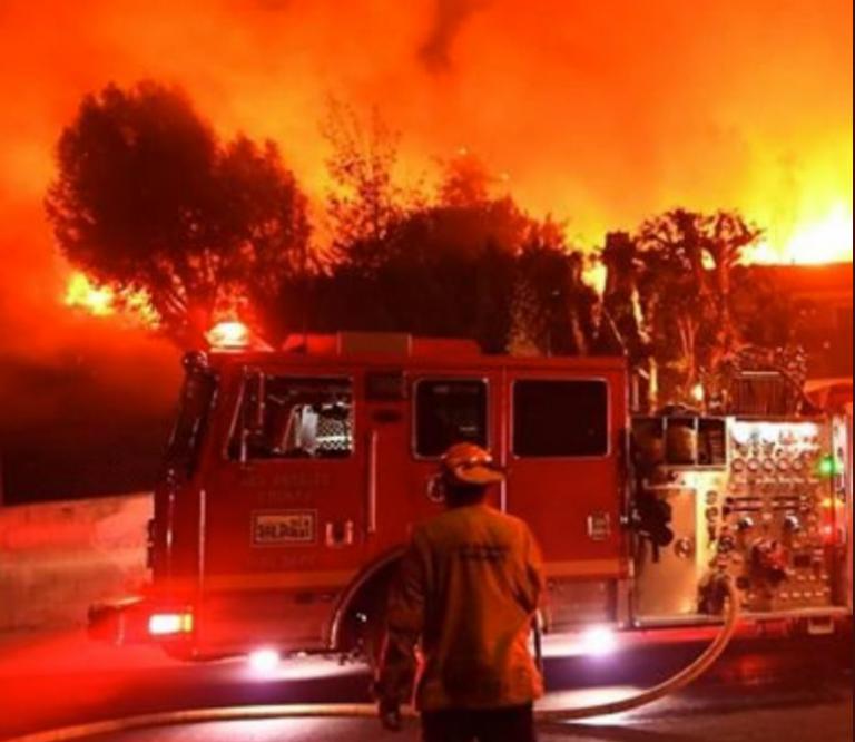 Καλιφόρνια : Φωτιά στη Σονόμα | tovima.gr