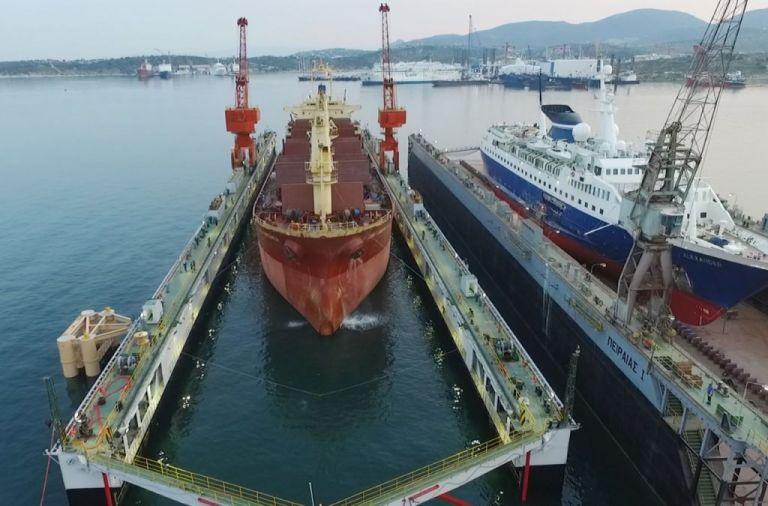Πειραιάς : ΄Ολο και περισσότερα πλοία στην ναυπηγοεπισκευαστική ζώνη   tovima.gr