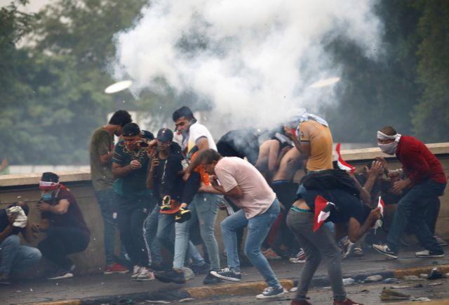 Ιράκ : Διαδηλωτές πυρπόλησαν κυβερνητικό κτίριο – Οκτώ νεκροί | tovima.gr