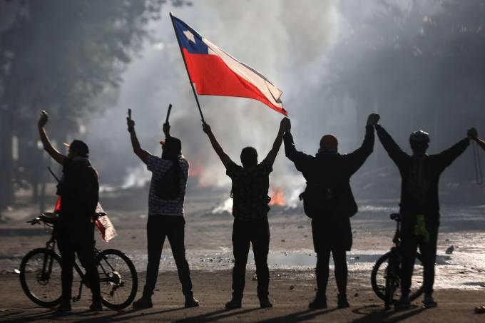 Χιλή : Κινητοποιήσεων συνέχεια – 1.000.000 πολίτες στους δρόμους του Σαντιάγο | tovima.gr