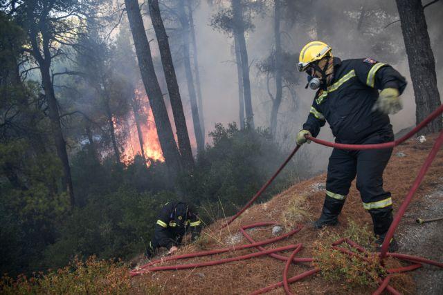 Σε ύφεση η πυρκαγιά στο Χρυσοβίτσι Αρκαδίας   tovima.gr