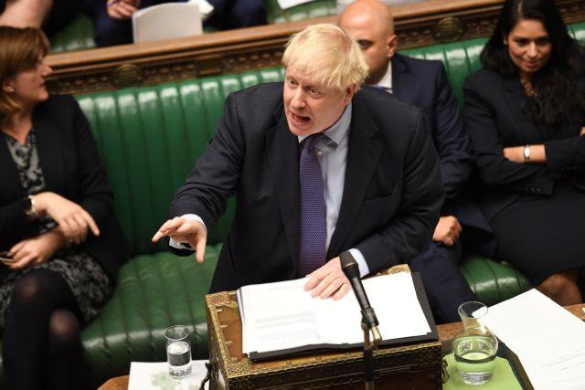 Βρετανία : Διψήφια η διαφορά του Τζόνσον με τον Κόρμπιν | tovima.gr