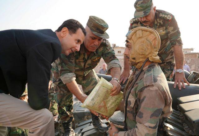 Άσαντ : Δεν πείθεται  πως ο Μπαγκντάντι είναι νεκρός | tovima.gr