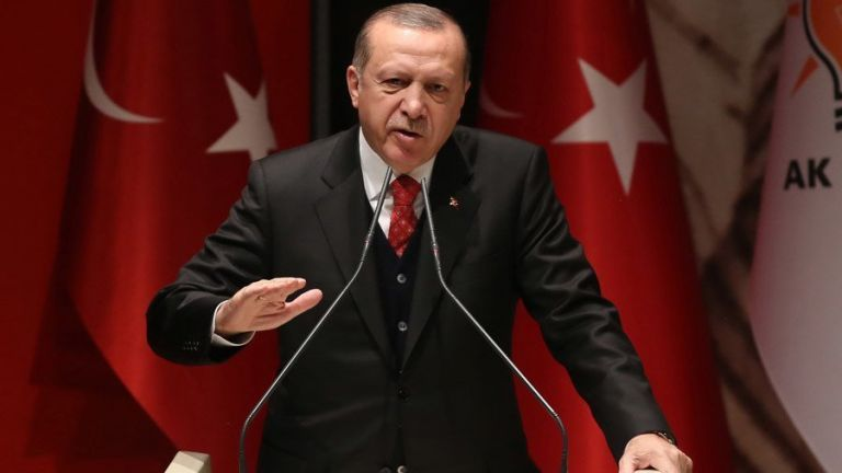 Ερντογάν : Oι κούρδοι μαχητές παραμένουν στη «ζώνη ασφαλείας» στη Συρία | tovima.gr