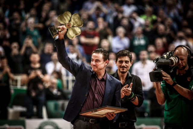 Βραβεύτηκε και αποθεώθηκε Πιτίνο στο ΟΑΚΑ – «Ήθελα να ανταποδώσω την αγάπη του κόσμου» | tovima.gr