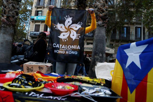 Ισπανία : Στους δρόμους οι αυτονομιστές μια ημέρα πριν τις εκλογές | tovima.gr