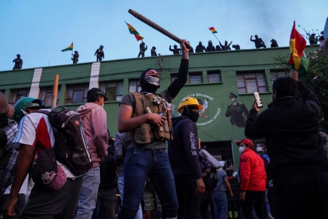 Πολιτική κρίση στη Βολιβία : Η κυβέρνηση καταγγέλλει απόπειρα πραξικοπήματος | tovima.gr