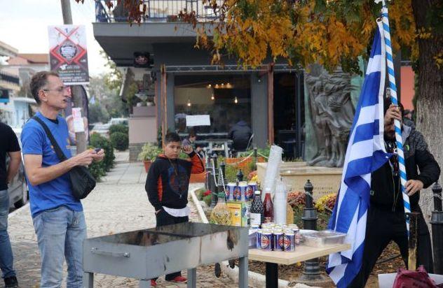 Διαβατά : Το μπάρμπεκιου διαμαρτυρίας ηλεκτρίζει | tovima.gr
