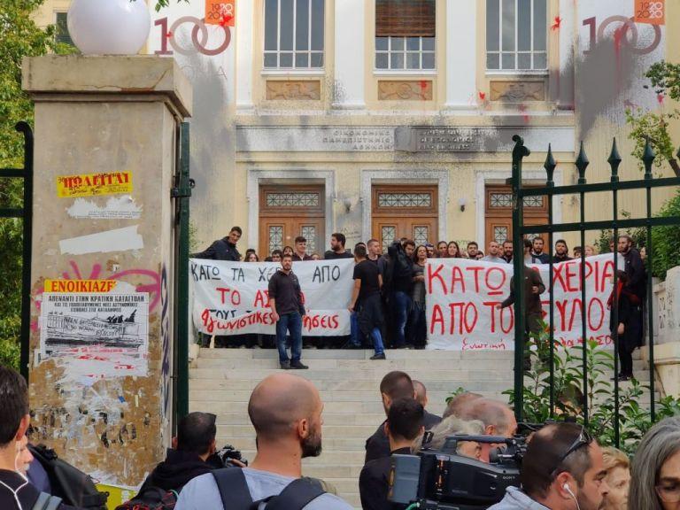 ΑΣΟΕΕ: Δύο προσαγωγές σε νέο γύρο επεισοδίων | tovima.gr