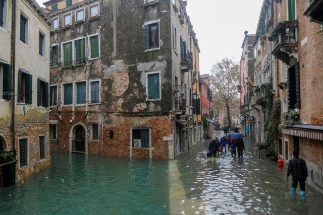 Σε κατάσταση έκτακτης ανάγκης η Βενετία από τις καταστροφικές πλημμύρες   tovima.gr