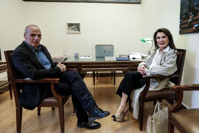 Ελλάδα 2021: Τον Γιάνη Βαρουφάκη συνάντησε η Γιάννα Αγγελοπούλου | tovima.gr