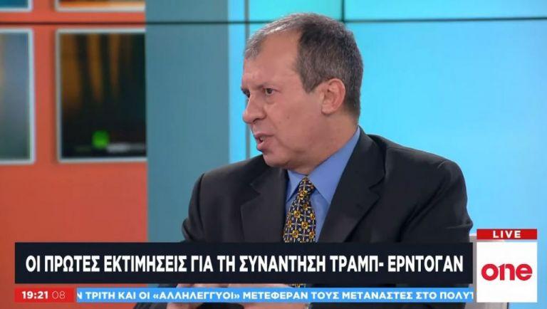 Ο Αφ. Λαγγίδης στο One Channel για τη συνάντηση Τραμπ – Ερντογάν | tovima.gr