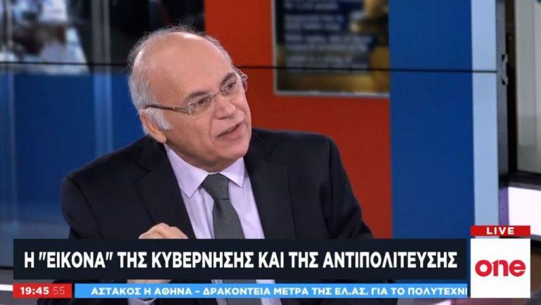 Ο επικοινωνιολόγος Γ. Μανωλάκος στο One Channel: Η εικόνα της κυβέρνησης και της αντιπολίτευσης | tovima.gr