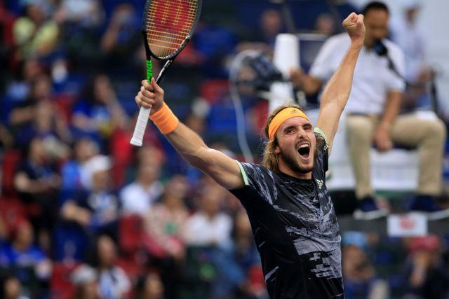 Τσιτσιπάς : Μεγάλο εμπόδιο στο δρόμο του για τον τελικό ο Φέντερερ   tovima.gr