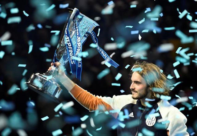 Σπουδαίος Τσιτσιπάς : Νίκησε τον Τιμ στον τελικό του ATP στο Λονδίνο | tovima.gr