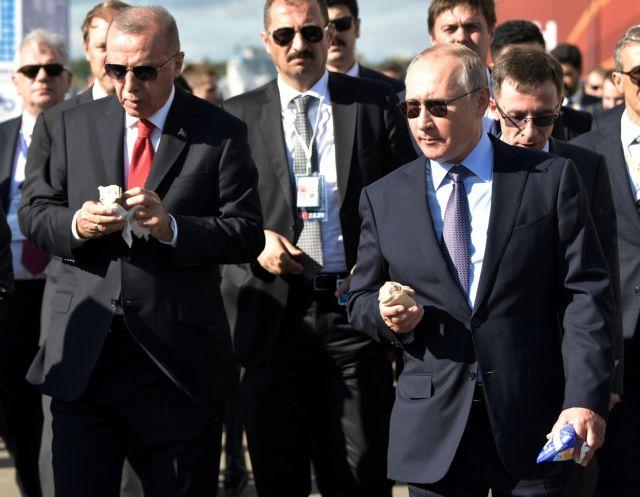 Μόσχα : Ετοιμη να πουλήσει μαχητικά αεροσκάφη στην Τουρκία | tovima.gr