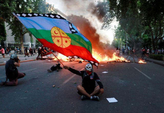 Σαντιάγο: «Η Χιλή ξύπνησε» διαδήλωσαν 4.000 πολίτες   tovima.gr