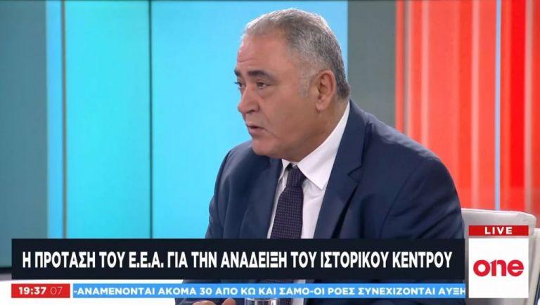 O πρόεδρος του Επαγγελματικού Επιμελητηρίου Αθηνών στο One Channel | tovima.gr