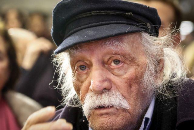Μανώλης Γλέζος: Συνεχώς βελτιώνεται η υγεία του | tovima.gr