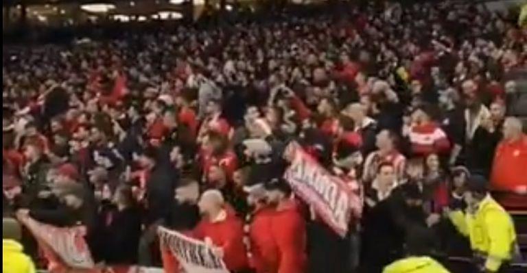 «Χαμός» από χιλιάδες οπαδούς του Ολυμπιακού στο «Tottenham Hotspur Stadium» (vid) | tovima.gr