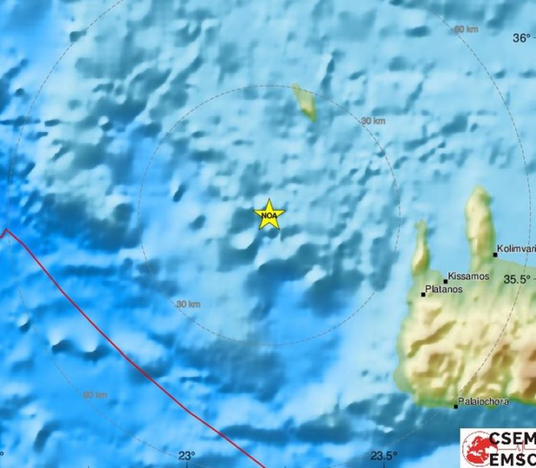 Σεισμός 6,1 Ρίχτερ στα Κύθηρα – Αισθητός και στην Αθήνα | tovima.gr