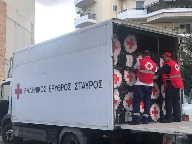 Αποστολή ανθρωπιστικής βοήθειας στην Αλβανία από τον Ελληνικό Ερυθρό Σταυρό   tovima.gr