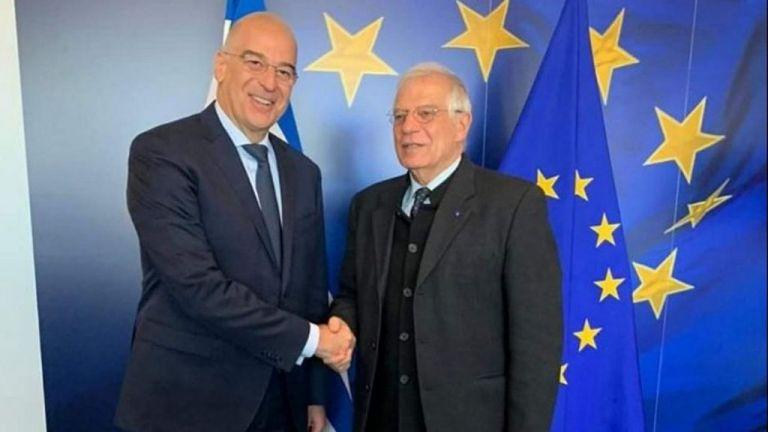 Δένδιας: Για τις προκλήσεις της Τουρκίας ενημέρωσε τον ύπατο εκπρόσωπο της ΕΕ για την Εξωτερική Πολιτική | tovima.gr