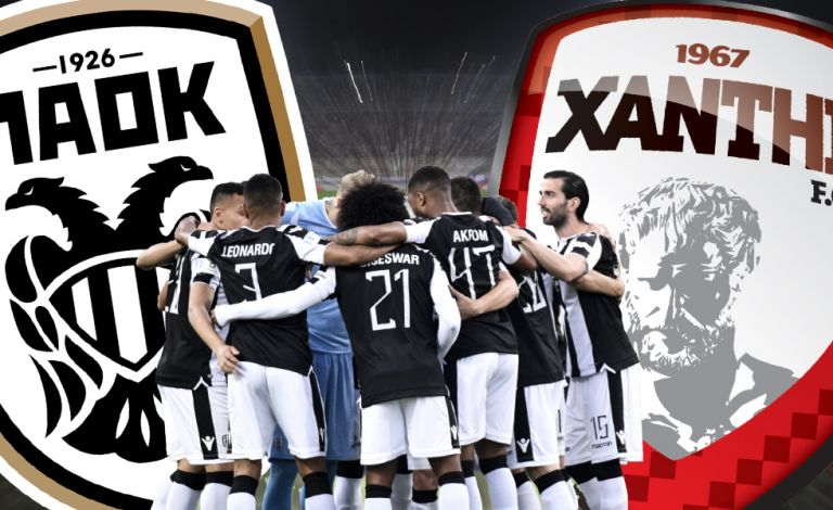 """PAOK F.C.versus XANTHI F.C without a coach for the team known as """"Akrites"""".. How can one hold a match? 
