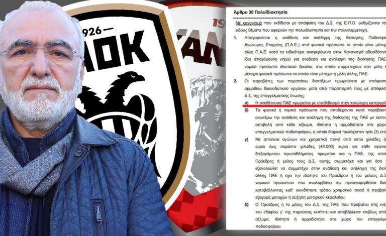 Αμείλικτοι οι κανονισμοί: Υποβιβασμός για ΠΑΟΚ – Ξάνθη, αποκλεισμός δια βίου για Σαββίδη (pics)   tovima.gr