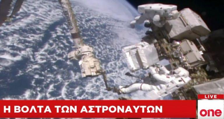 Ενας περίπατος… επτάμισι ωρών στο Διάστημα | tovima.gr