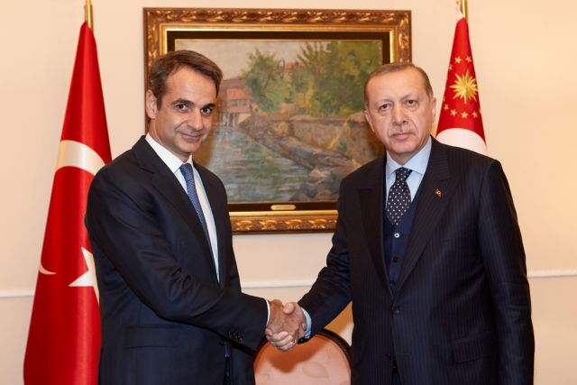 Συνάντηση Μητσοτάκη-Ερντογάν σε βαρύ κλίμα – Οι θέσεις των δύο ηγετών | tovima.gr