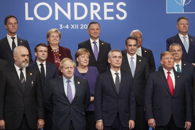 Οι ηγέτες των χωρών του ΝΑΤΟ δεσμεύτηκαν: «Όλοι για έναν και ένας για όλους» | tovima.gr