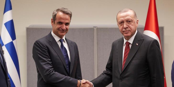 Κρίσιμο τετ α τετ Μητσοτάκη – Ερντογάν – Τι θα συζητήσουν   tovima.gr