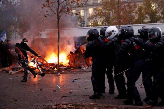 Γαλλία: Σε κλοιό αντικυβερνητικών διαδηλώσεων   tovima.gr