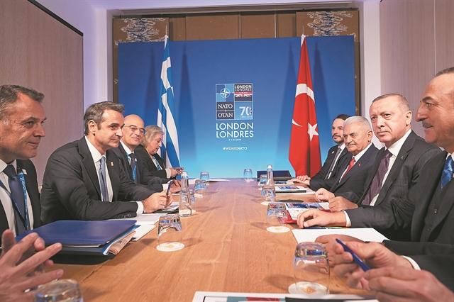 Το παρασκήνιο της συνάντησης Μητσοτάκη – Ερντογαν | tovima.gr